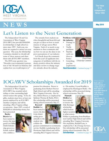 July 2019 IOGA News by Diane Slaughter - issuu