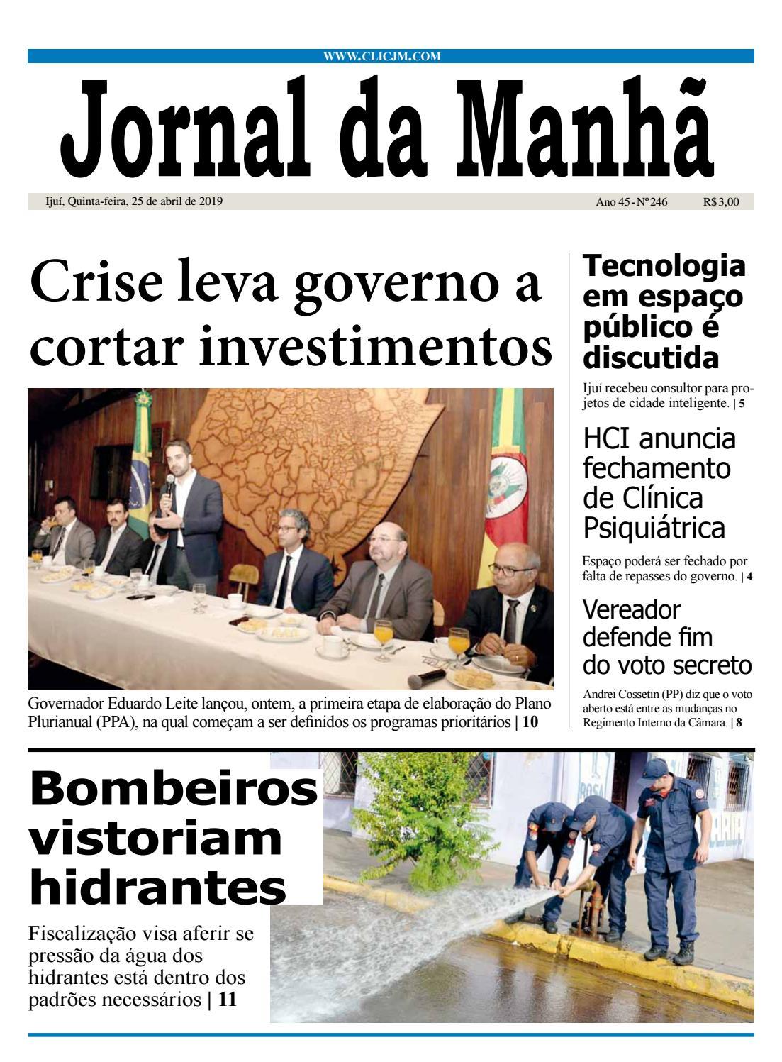 672d57cc2 Jornal da Manhã - Quinta-feira - 25-04-2019 by clicjm - issuu