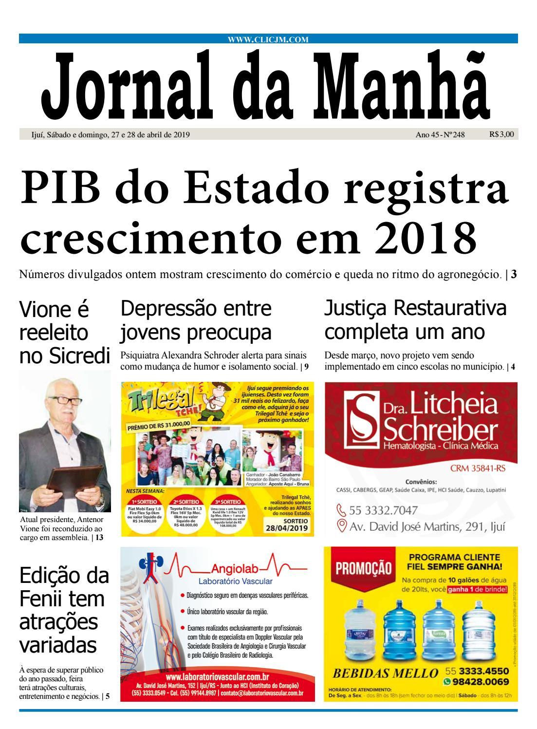 5991df495 Jornal da Manhã - Sábado - 27-04-2019 by clicjm - issuu