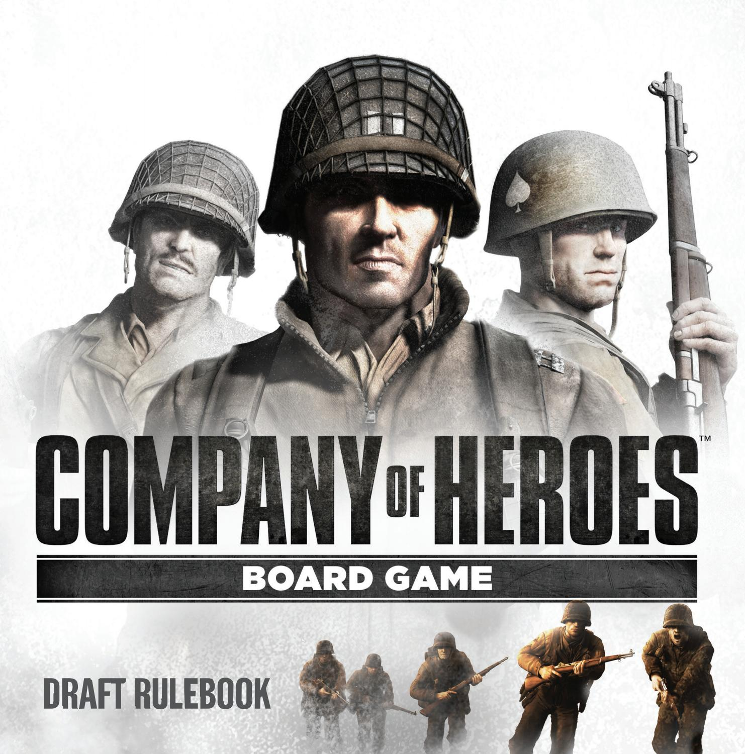 Company Of Heroes Board Game Rulebook Draft 3 0 By Badcrowgames