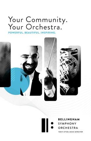 2019-2020 Season Brochure, Bellingham Symphony Orchestra by