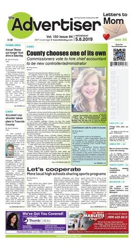 TCA 5-8-19 by Tuscola County Advertiser - issuu