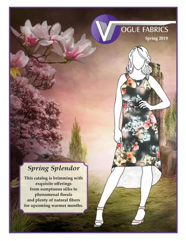 f3e1761f4274 Vogue Fabrics Catalog - Spring 2019 - Coordinated Fashion Fabrics by ...