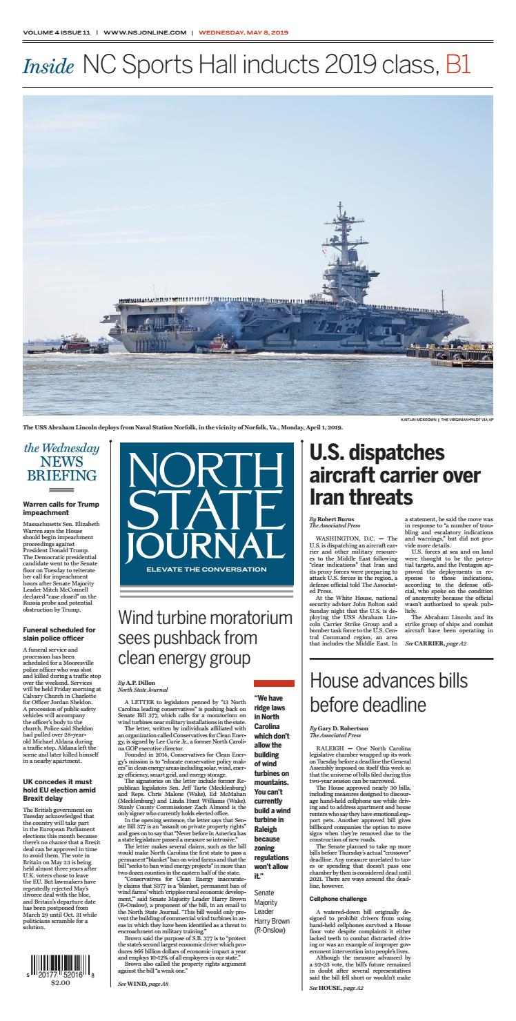 North State Journal Vol  4, Issue 11 by North State Journal - issuu