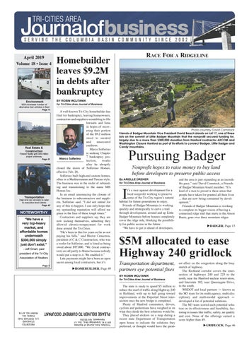 Tri-Cities Area Journal of Business April 2019 by Tri-Cities