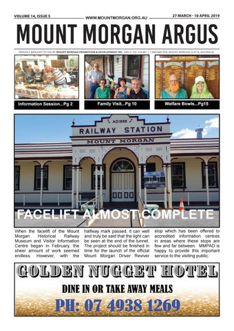 Mount Morgan Argus Volume 14, Issue 5 by Mount Morgan
