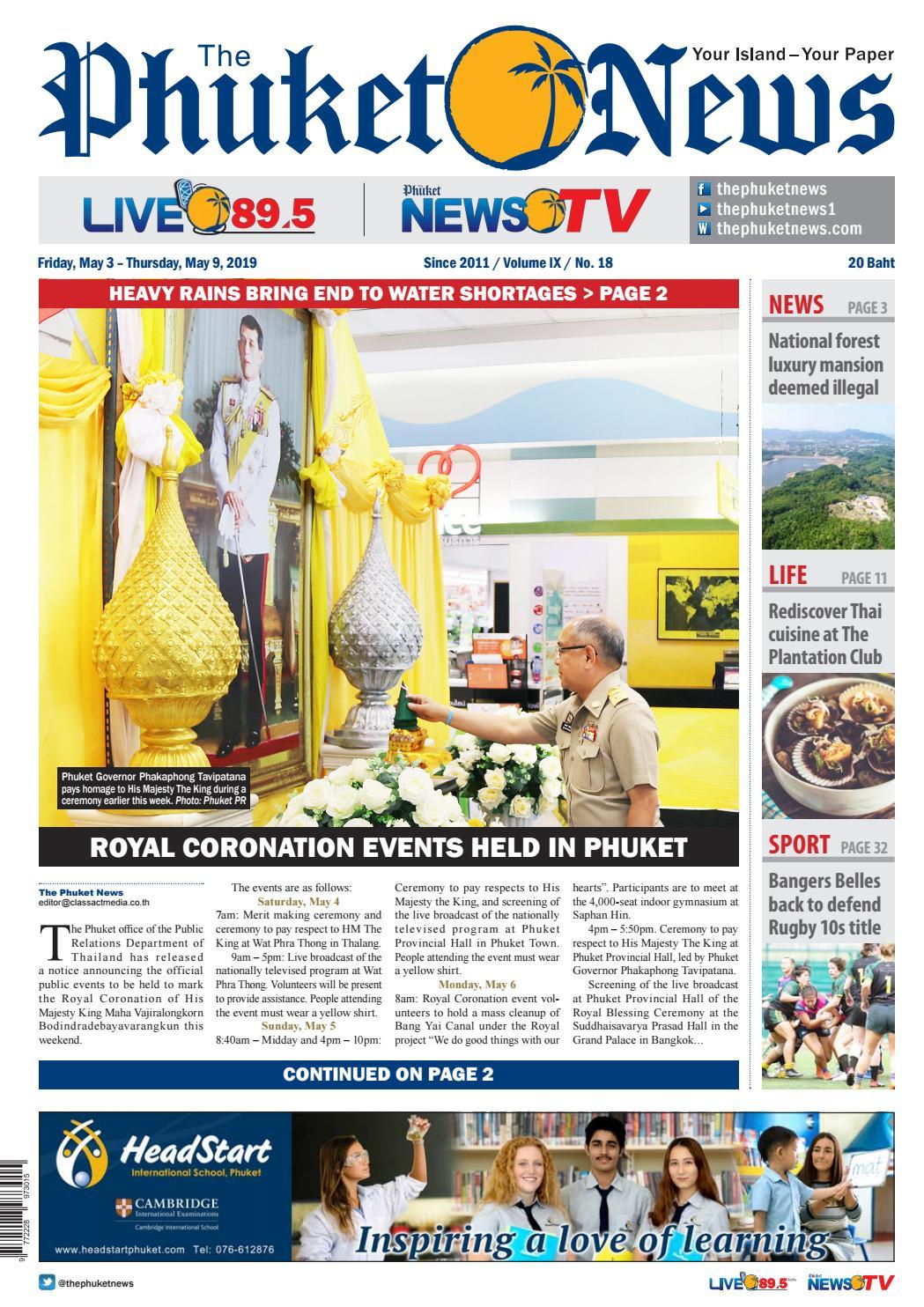The Phuket News 03 May 2019 by The Phuket News - issuu