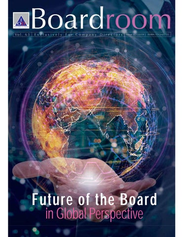 Boardroom Vol 2 2019 Future Of The Board In Global Perspective By Thai Iod Issuu