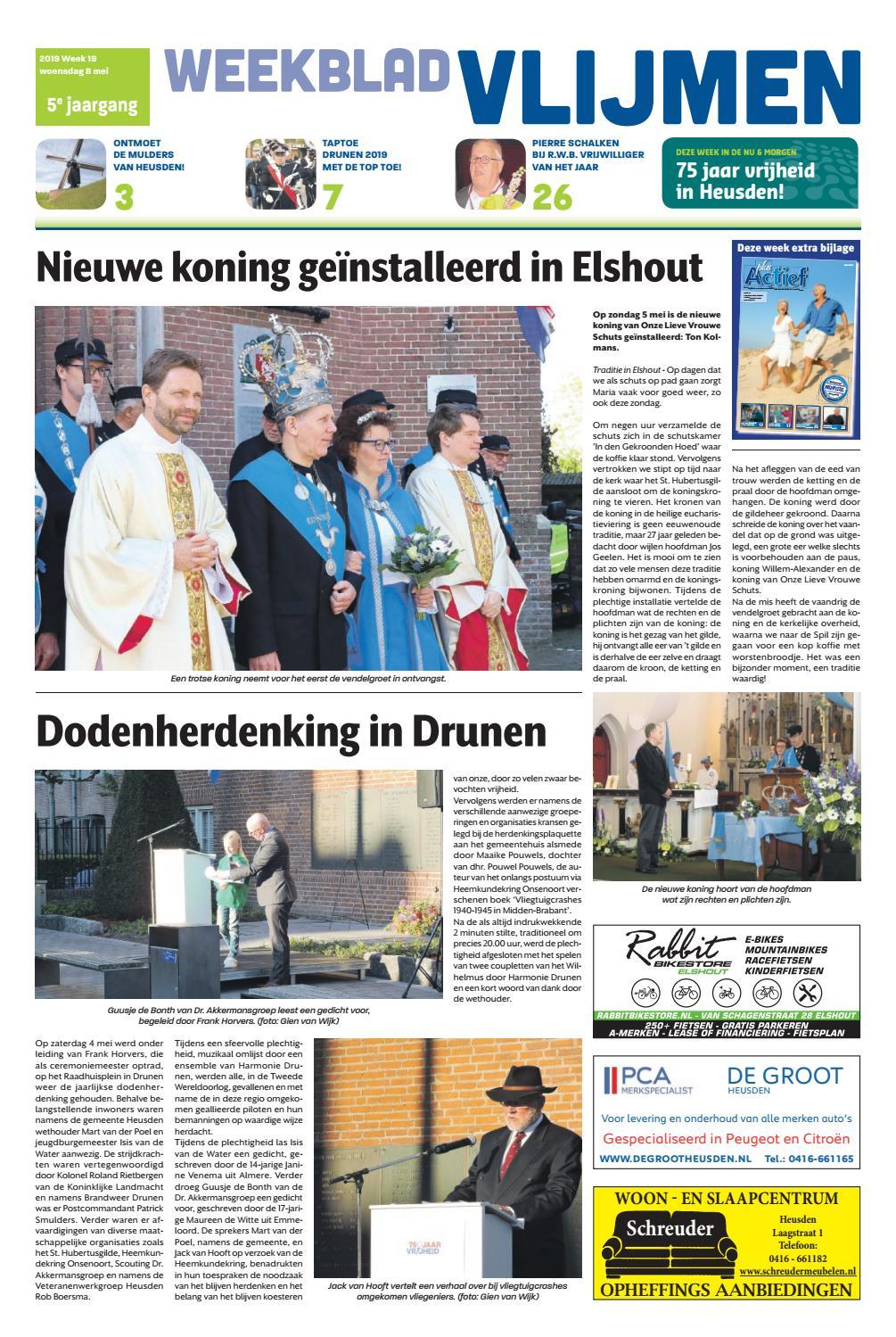 99111e80a88 Weekblad Vlijmen 08-05-2019 by Uitgeverij Em de Jong - issuu
