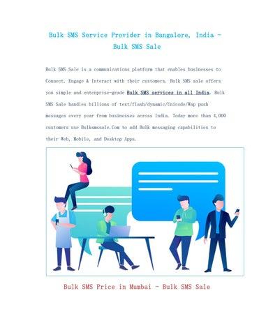 Bulk SMS Price India- Bulk SMS Sale