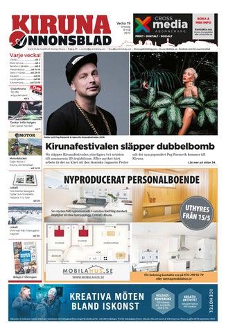 0ad6d2051b2e Kiruna Annonsblad vecka 19, 2019 by Svenska Civildatalogerna AB - issuu