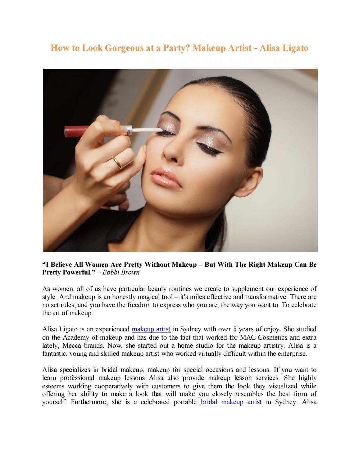 Alisa Ligato Makeup Artistry Issuu