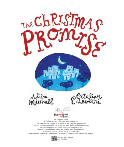 The Christmas Promise Book.Look Inside B The Christmas Promise By The Good Book