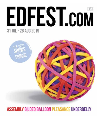 Edfest 2019 Programme by Edinburgh Comedy Festival - issuu