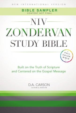 Look Inside b NIV Study Bible by The Good Book pany issuu