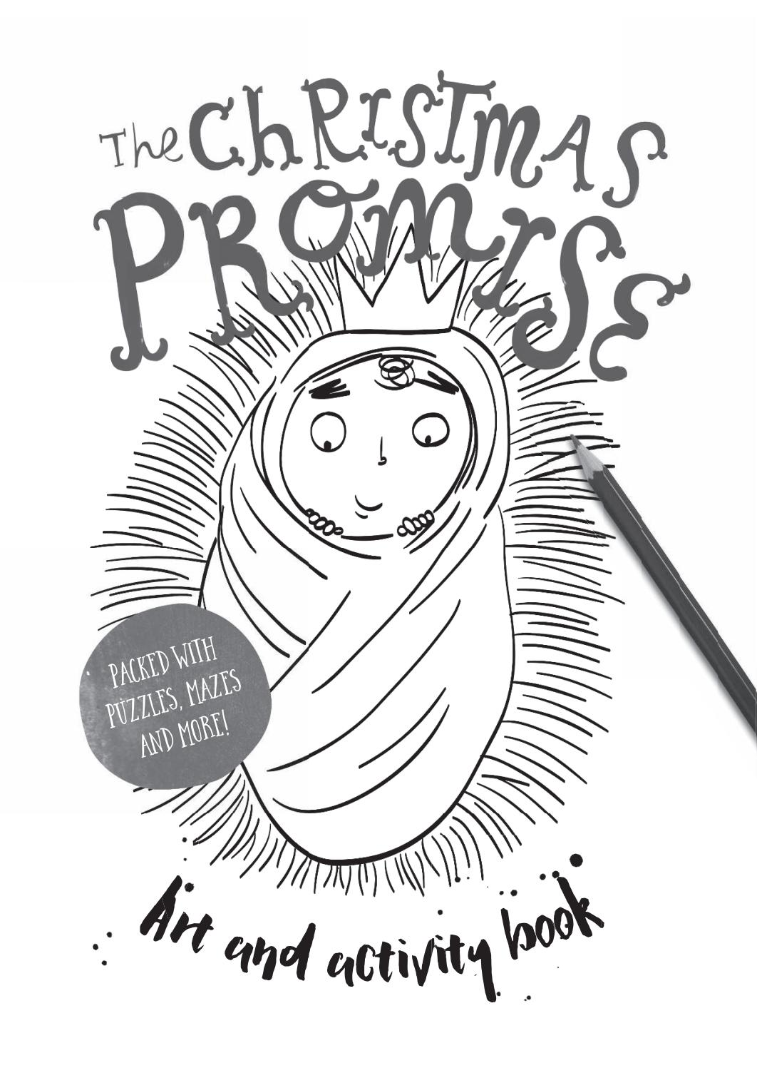 The Christmas Promise Book.Look Inside B The Christmas Promise Colouring And Activity