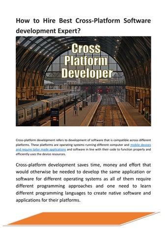 How to Hire Best Cross-Platform Software development Expert?