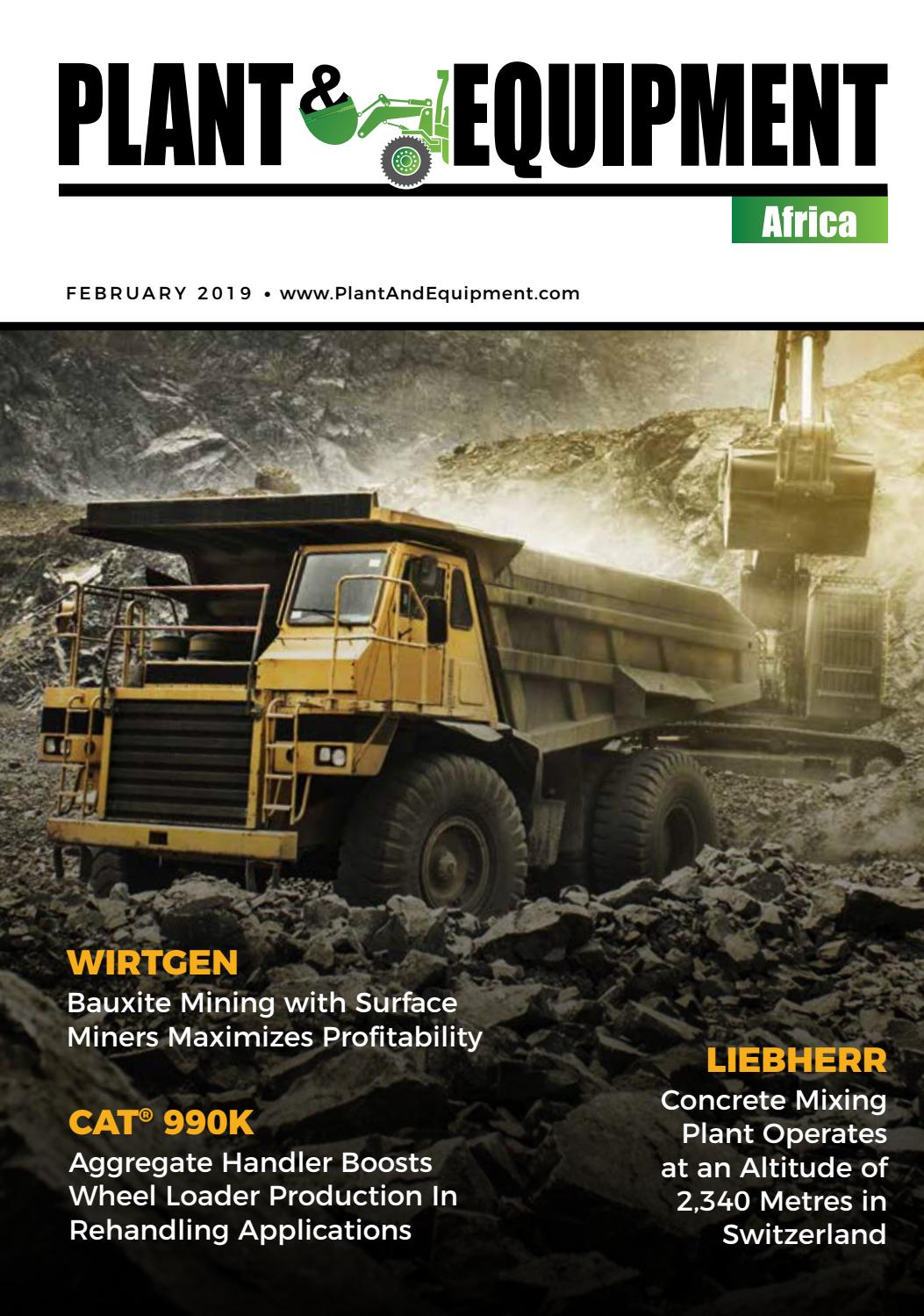 Plant & Equipment | Africa | February-2 2019 Edition by