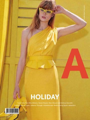 b7a028cc9f26 A Magazine, Issue 98 by Aïshti - issuu