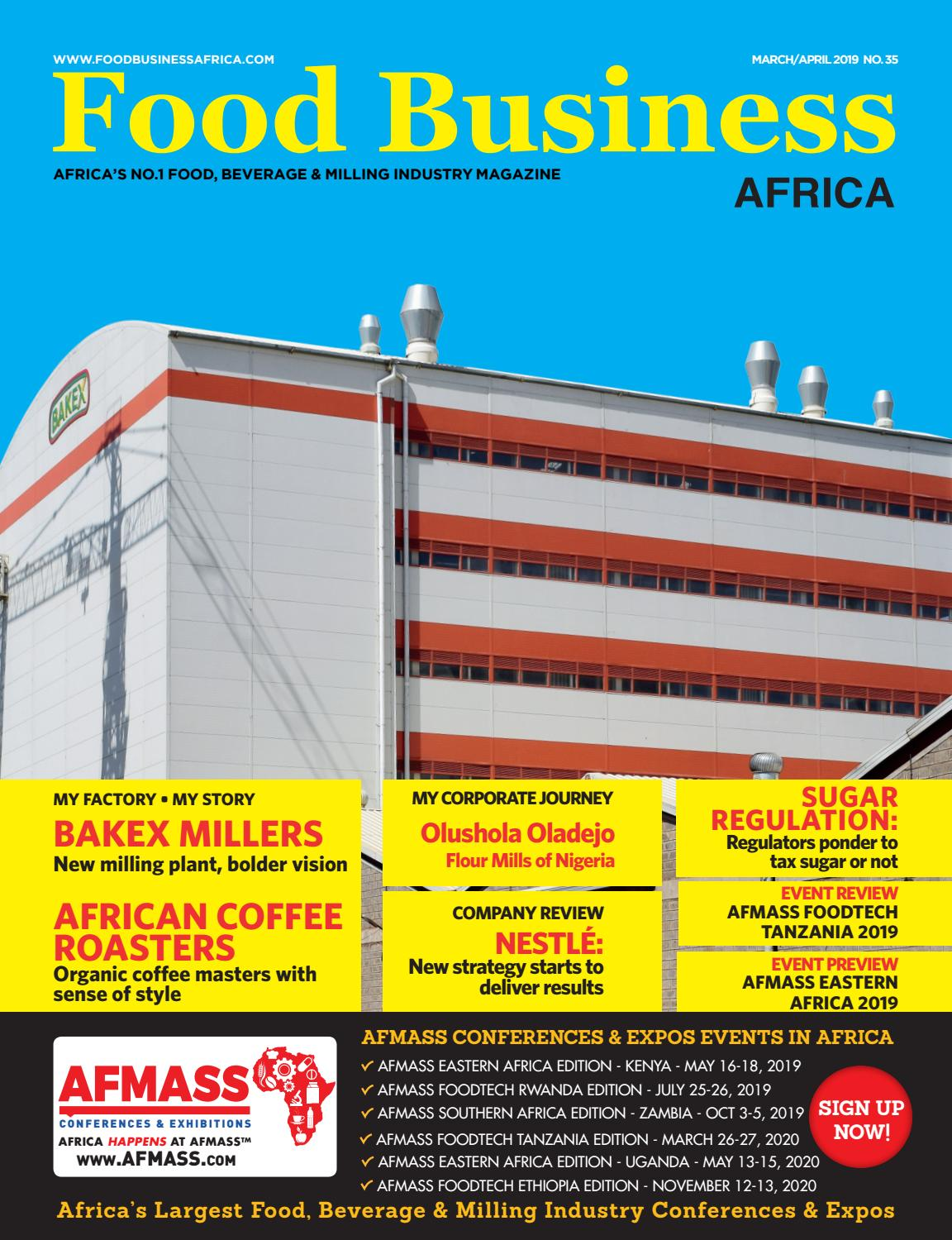 Food Business Africa March/April 2019 by FoodWorld Media - issuu