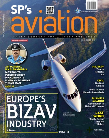 SP's Aviation Issue 5 - 2019 by SP Guide Publications Pvt Ltd - issuu
