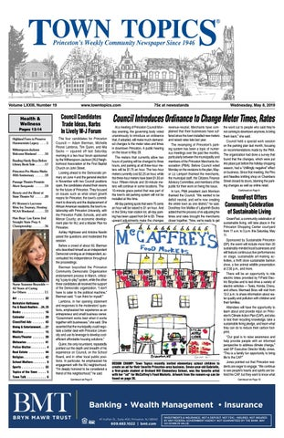 Town Topics Newspaper, May 8 by Witherspoon Media Group - issuu