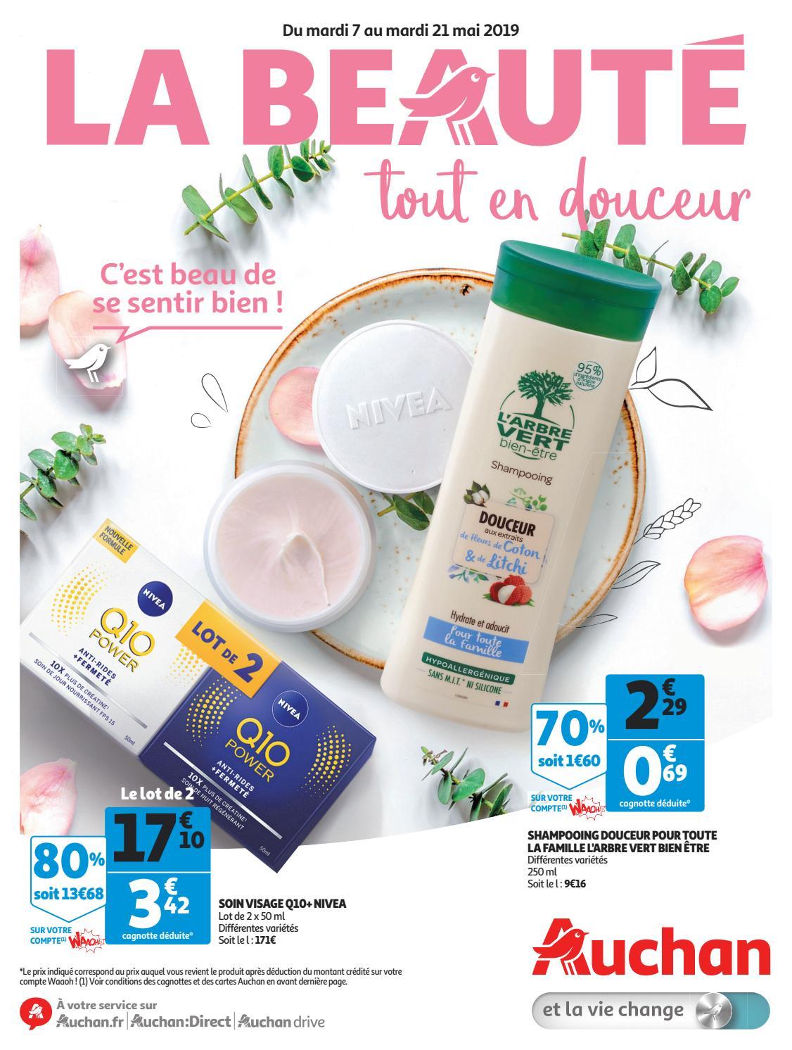 Carte Accord Auchan Compte Waaoh.Catalogue Auchan Du 7 Au 21 Mai 2019 By Monsieurechantillons