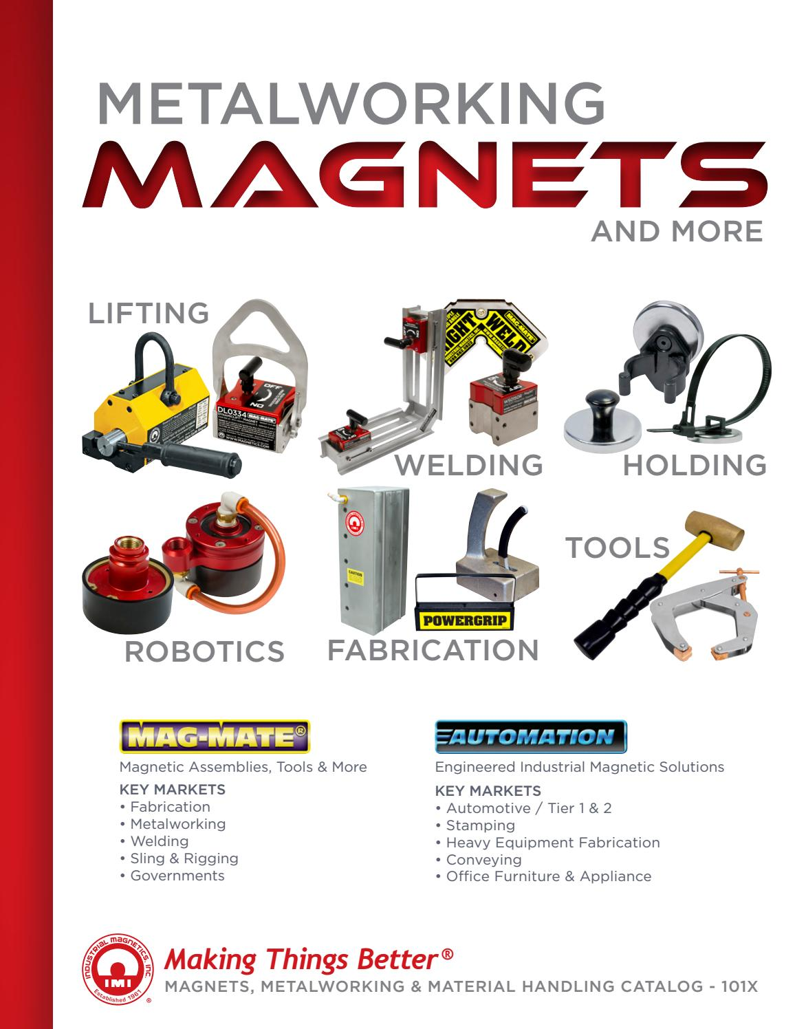 200 lb Magnetic Ground Clamps 600 A