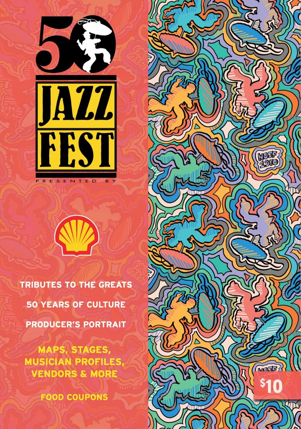 New Orleans Jazz and Heritage Festival Program 2019 by Renaissance