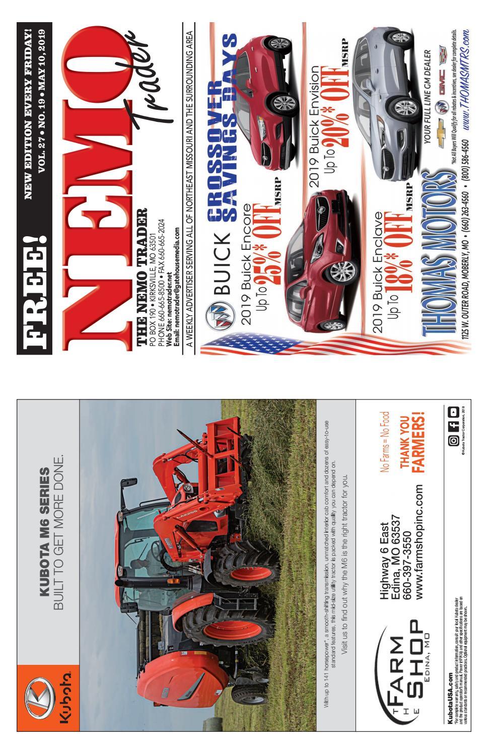 15a3366e65 NEMO Trader May 10th, 2019 by NEMO Trader - issuu