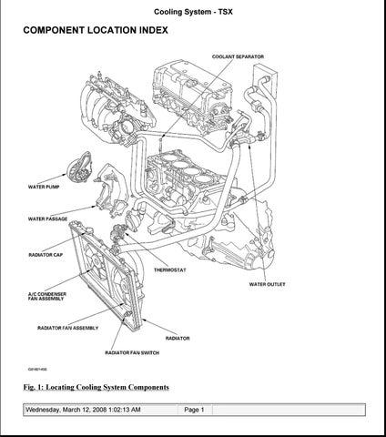 [DIAGRAM_0HG]  2004 ACURA TSX Service Repair Manual by 1639234 - issuu | 09 Tsx Engine Diagram |  | Issuu
