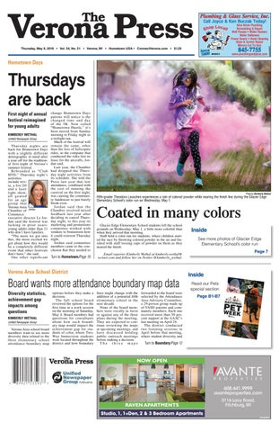 5/9/19 Verona Press by Woodward Community Media - issuu
