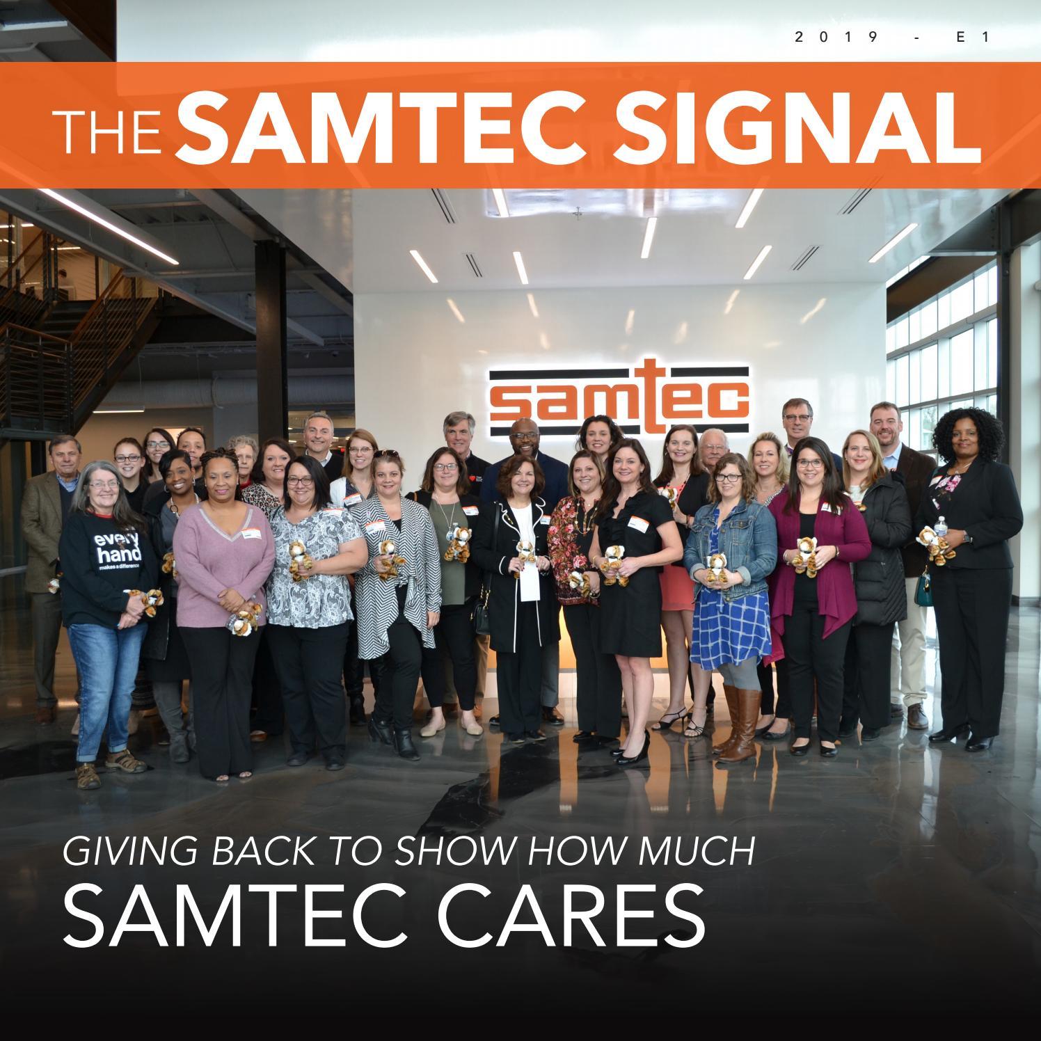 Samtec Signal E1 2019 by Samtec Inc  - issuu