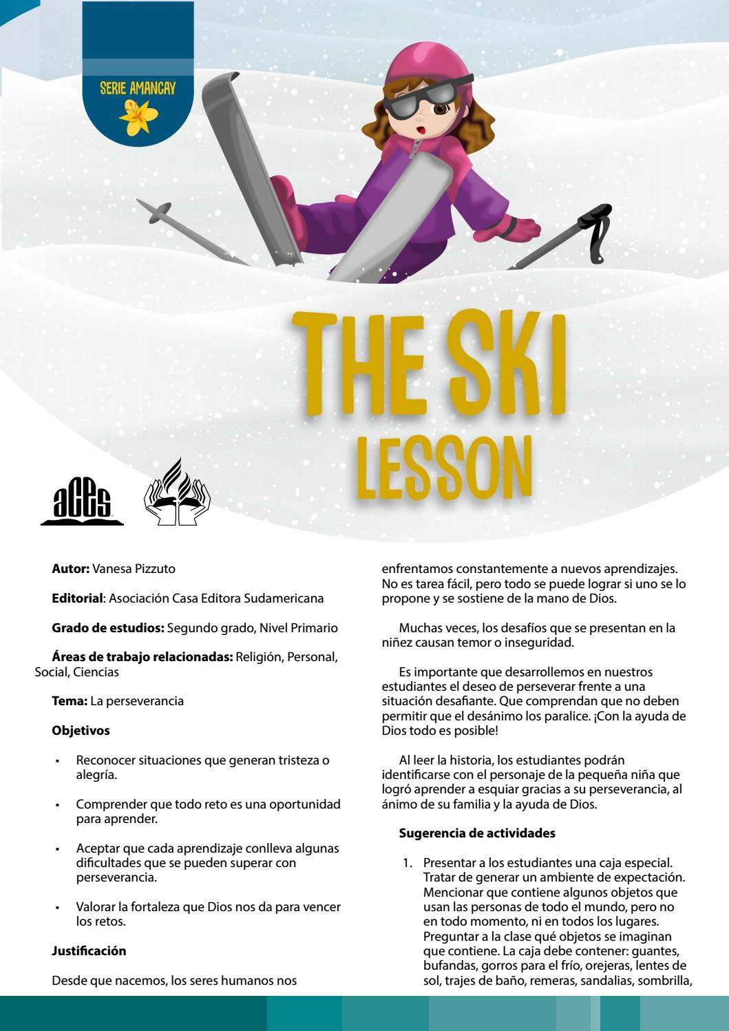 La De – Esquí Proyecto Lectura Clase H2eWD9IYE