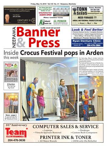 Friday, May 10, 2019 Neepawa Banner & Press by Neepawa
