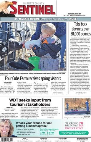 ba019700d The Burnett County Sentinel 05-08-2019 by Burnett County Sentinel ...