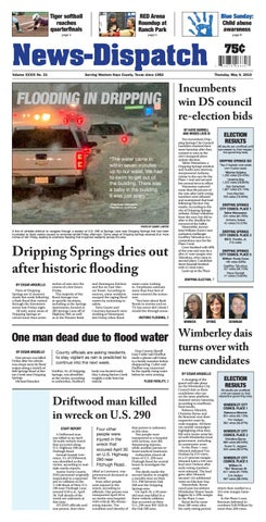 News Dispatch May 09,2019 by Hays Free Press/News-Dispatch