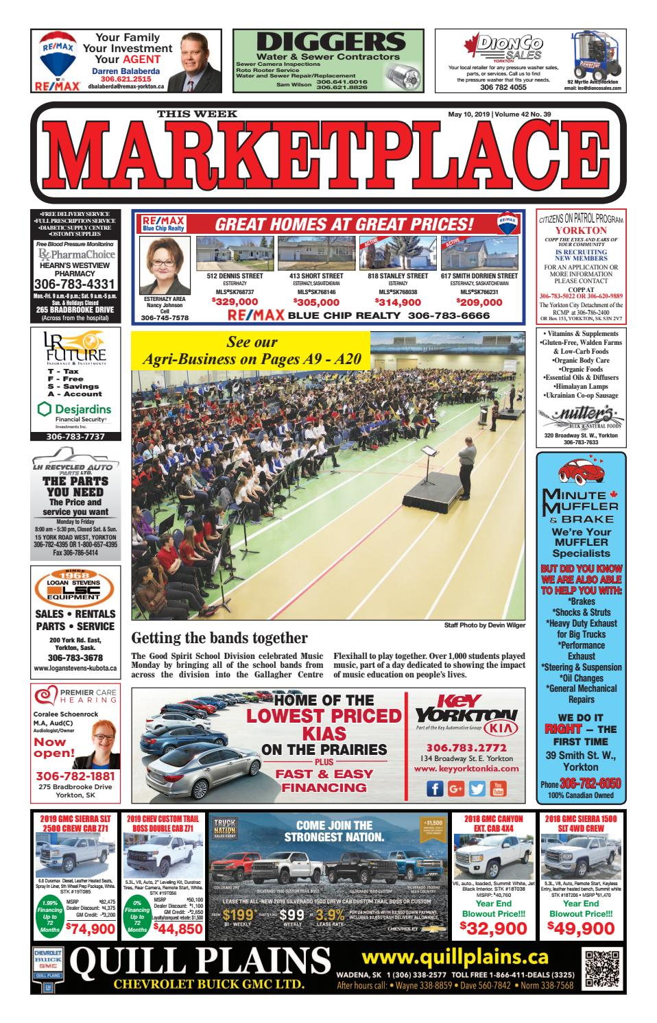 Marketplace 2019-05-10 by Yorkton This Week - issuu