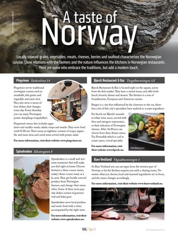Page 106 of A Taste of Norway