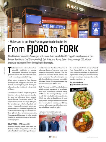 Page 110 of From FJORD to FORK