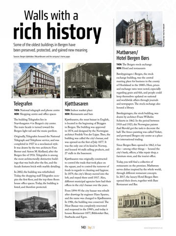 Page 140 of  Walls with a rich history