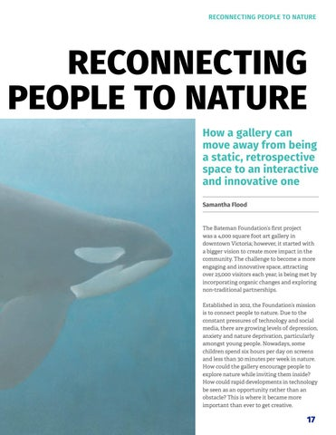 Page 19 of Reconnecting people to nature