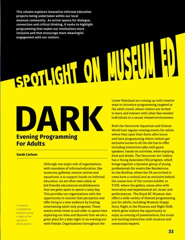 Page 35 of Column: Spotlight on museum ed