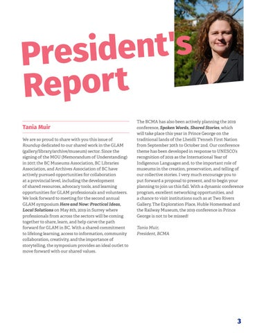 Page 5 of President's Report