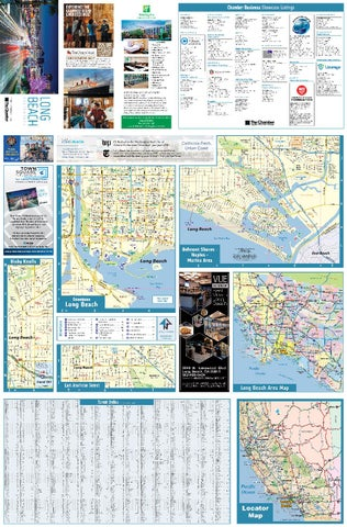 Long Beach CA Digital Map - Town Square Publications on