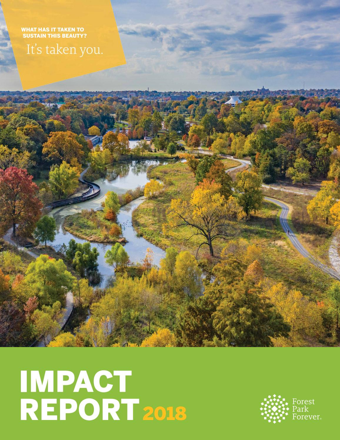 Forest Park Forever 2018 Impact Report By Forest Park Forever Issuu