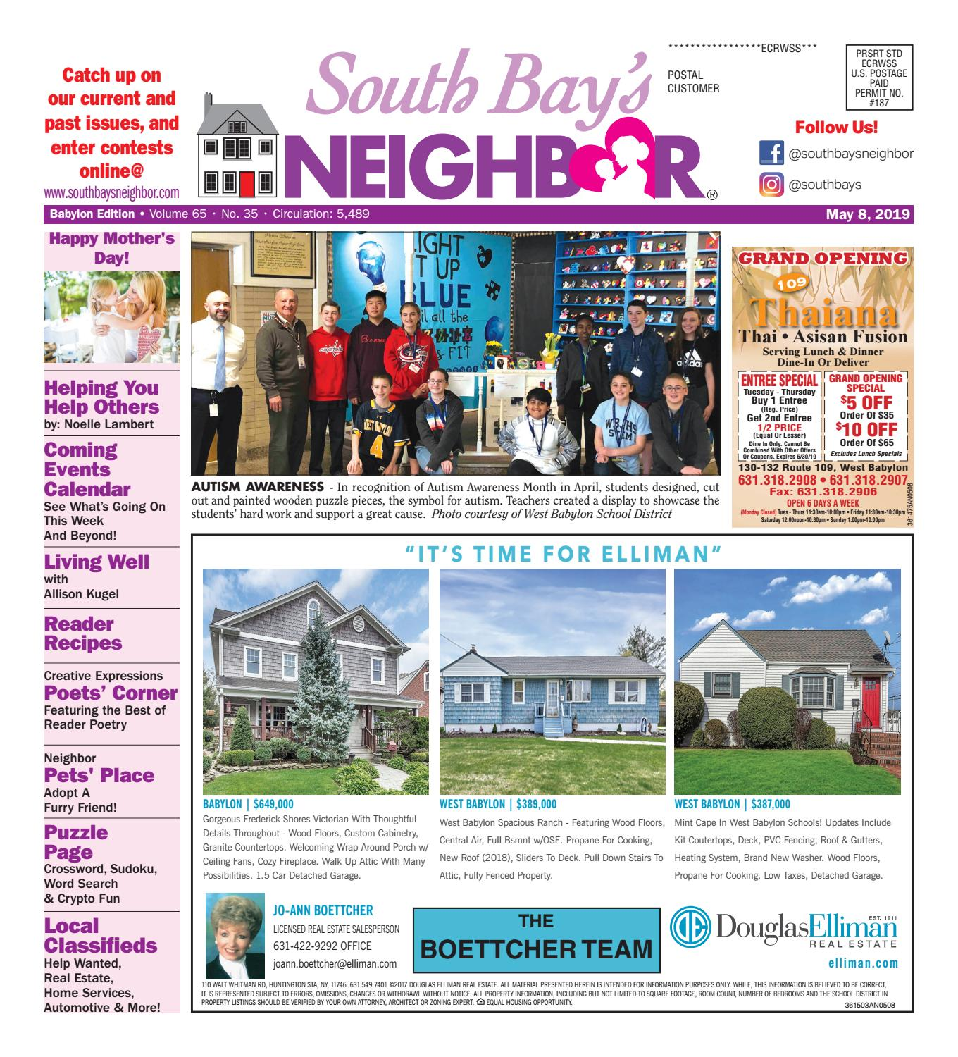 May 8, 2019 Babylon by South Bay's Neighbor Newspapers - issuu