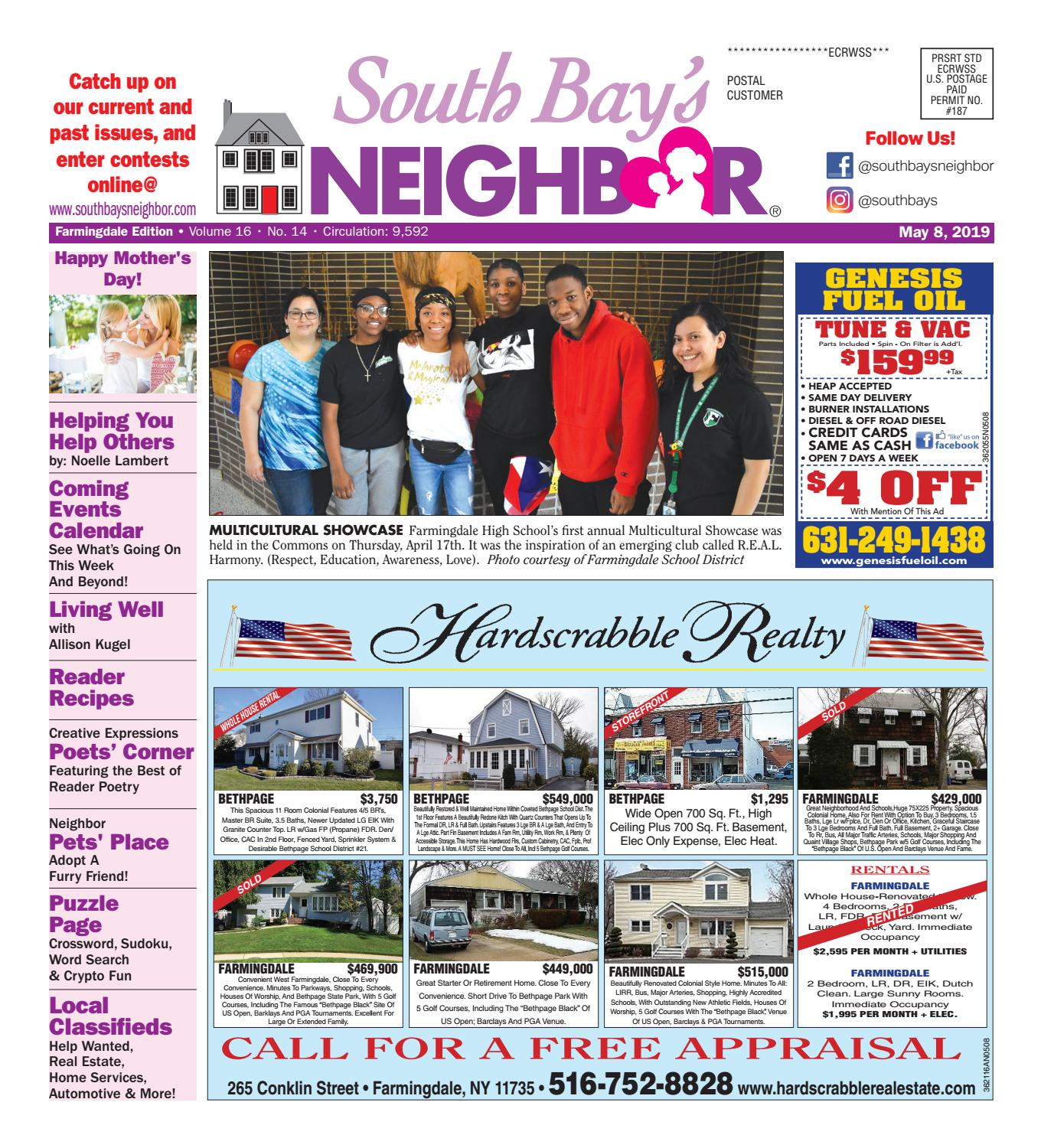 May 8, 2019 Farmingdale by South Bay's Neighbor Newspapers