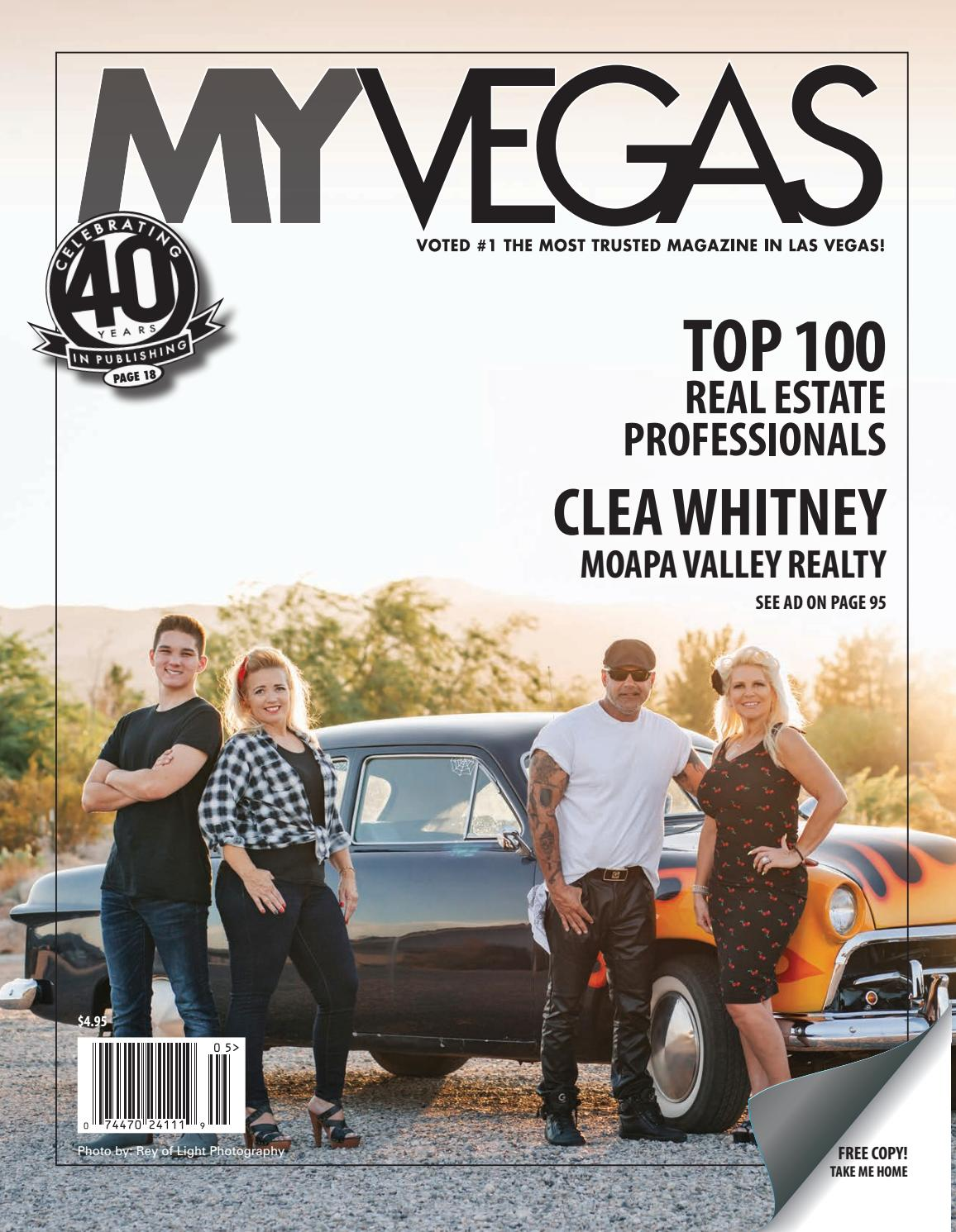 Issue 219 - Clea Whitney by MyVegas Mag - issuu