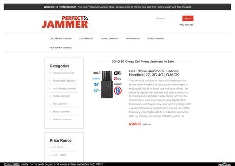 3G 4G 5G Cheap Cell Phone Jammers for Sale by kirishimakosei